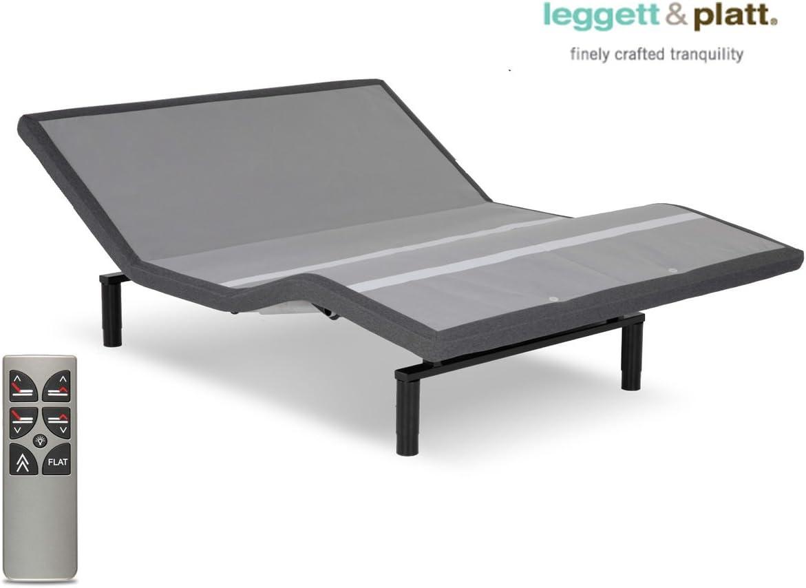 Split California King Leggett /& Platt Falcon 2.0 Adjustable Bed Base