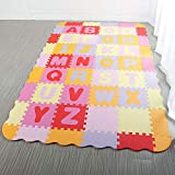Sallymonday 54Pcs Kid's Puzzle Exercise Play Mat
