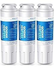 GOLDEN ICEPURE UKF8001 Replacement Filter 4 EveryDrop EDR4RXD1 Wrx735sdbm00, Maytag Mfi2570fez Msd2651heb, Kitchenaid Krfc300ess01, KENMORE 469006, RWF0900A Refrigerator Water Filter 3pack
