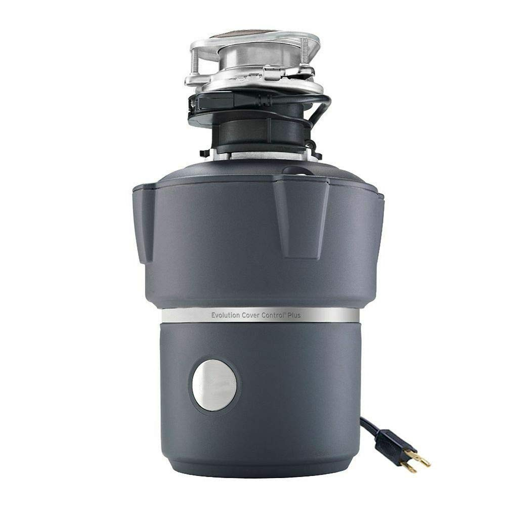 Evolution Cover Control Plus 3/4HP Batch Feed Garbage Disposal with Ebook by oldzon
