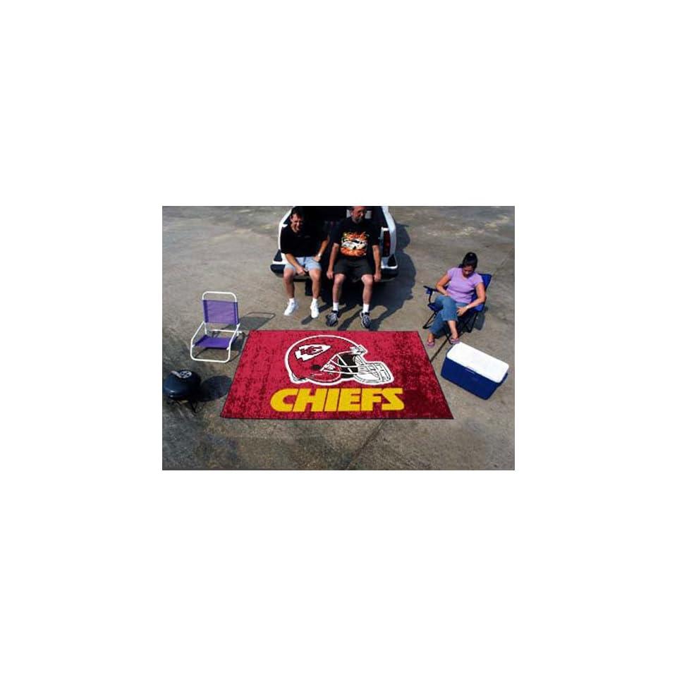 BSS   Kansas City Chiefs NFL Ulti Mat Floor Mat (5x8)