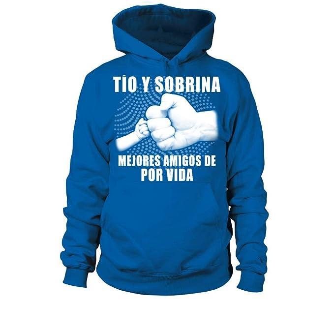 TEEZILY Tio Y Sobrina Mejores Amigos De por Vida Sudadera con Capucha Unisex: Amazon.es: Ropa y accesorios