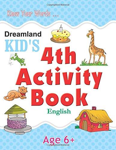 4th Activity Book - English (Kid's Activity Books)