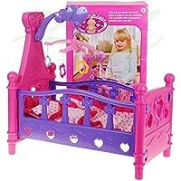 Puppenbett 661-02 con ropa de cama y juego
