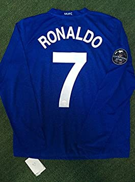 new product 07b5b e79aa CRISTIANO RONALDO#7 MANCHESTER UNITED RETRO LONGSLEEVE ...