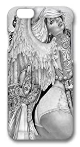 Angel Girl Art PC Case Cover for iphone 6 plus and iphone 6 plus 5.5 inch 3D in GUO Shop