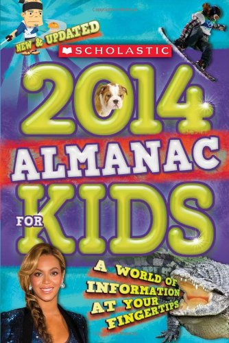 Price comparison product image Scholastic Almanac for Kids 2014
