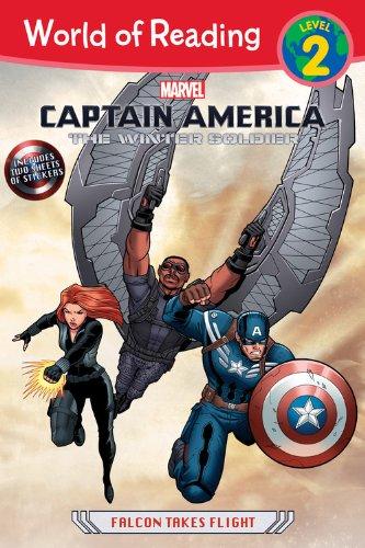 Captain America: The Winter Soldier: Falcon Takes Flight (World of Reading) (Captain America The Winter Soldier Online)
