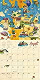The Art of Travel 2020 Calendar: Maps of the