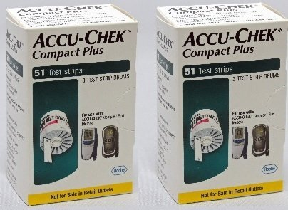 Compact Plus Test Strips 102Ct. Nfrs
