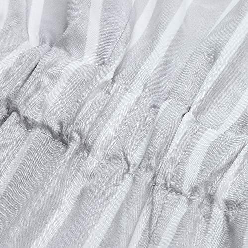 Pantalons Rayures Les Et Loisirs Larges À Chic Playsuit Élégant Sans Combishort Fille Combinaisons Longs Mode Soirée Long Féminine Bandage Jumpsuit Adeshop Blanc Manches Backless Cocktail Femmes Lâche PzUqaHw
