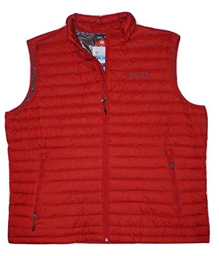 Columbia Mens Oaks Apex Omni Heat Down Vest (XX-Large)