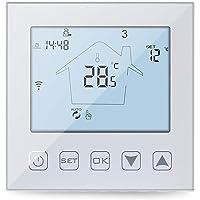 KETOTEK vloerverwarming thermostaat WiFi voor Heet Water 3A Echo Alexa/Google Home/Tuya Verenigbaar, Slimme…