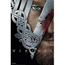 "Vikings Poster Helmet (24""x36"")"