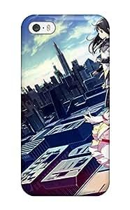 Hot 8877549K656015859 kara no kyoukai cityscapes multi s knives Anime Pop Culture Hard Plastic iPhone 5/5s cases