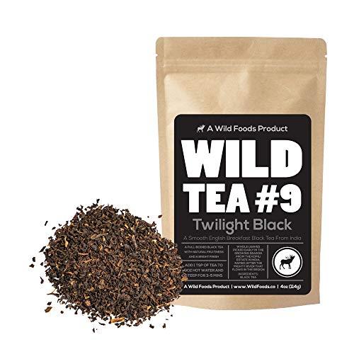 (Black Tea From India, Wild Tea #9 Premium Organically Grown Loose Leaf Tea Black Tea (4 ounce) )