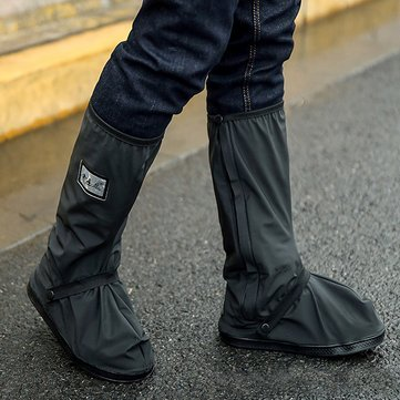 60e7e80465fc Motorcycle Waterproof Rain Shoes Covers Thicker Scootor Non-slip Boots  Covers  Amazon.in  Car   Motorbike