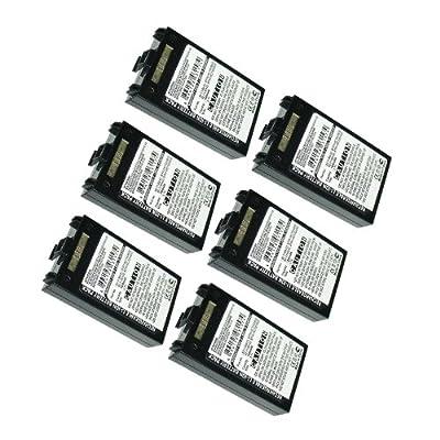 6pc Exell Li-Ion Barcode Scanner Battery Fits Symbol MC70,MC7090 MC7004,MC75 USA SHIP