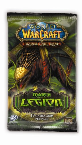 Packs World Booster Warcraft Of - World of Warcraft TCG WoW Trading Card Game March of the Legion Booster Pack