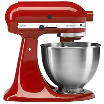 Kitchenaid Ultra Power® 4.5 Quart Tilt-head Stand Mixer Blender Red Ksm95er from KitchenAid