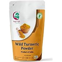 Yogi's Gift   100% Pure Organic Wild Turmeric powder for face   100 grams   Kasthuri manjal   Curcuma Aromatica   Amba…