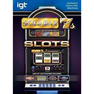 IGT Slots Gold Bar 7s