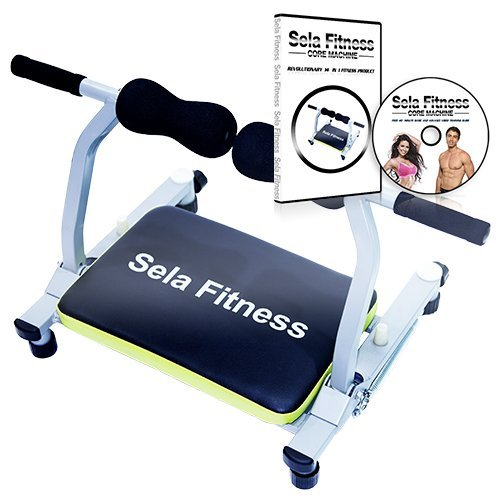 Sela fitness Total Body Exercise machine Ab Workout Fitness Trainer Home Gym Equipment Machine with DVD 35 minute guide (Gym Equipment Machines Home compare prices)