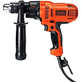 Black Decker 7 Amp Drill Driver 0.5 inch Metal Keyed Chuck Corded-Electric .#GH45843 3468-T34562FD57675