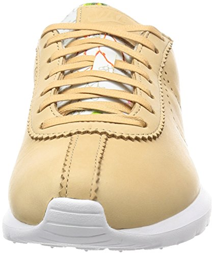 Nike Damen W Roshe Cortez NM Lib QS Turnschuhe Rosa (Vachetta Tan / Vchtt Tan-Vlt-Wht)