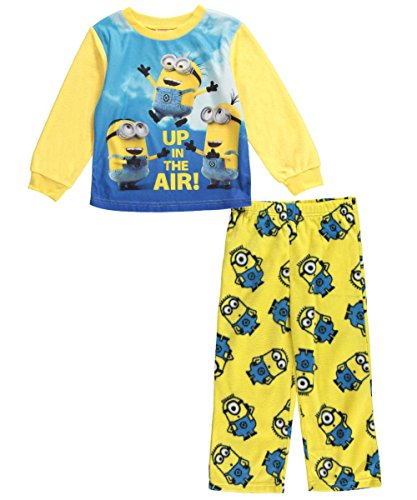 Despicable Me Yellow 'Up in The Air' Minions Pajama Set - Toddler (2T), Yellow, Size 2T