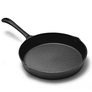 ZHANGY Pan Sartén, sartenes de Cocina, Antiadherente, Utensilios de Cocina de Hierro Fundido, sartén, Parrilla, Stovetop: Amazon.es: Hogar