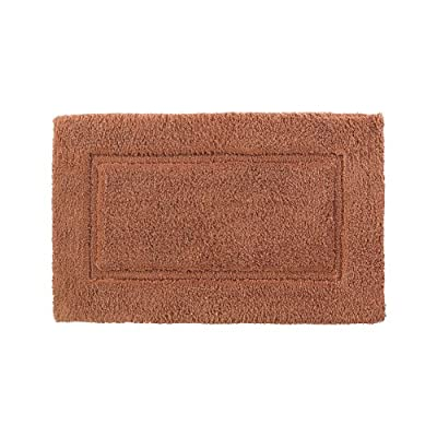 Kassatex 1-Piece Elegance Bath Rug, 24 by 40-Inch, Cayenne - 100% COTTON Non-Slip latex spray backing Imported, 250 grams per square feet - bathroom-linens, bathroom, bath-mats - 51UVbOqMqGL. SS400  -