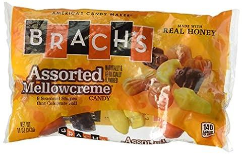 Brach's Assorted Halloween Mellowcremes, 11oz Bag - Fall Assorted Chocolates