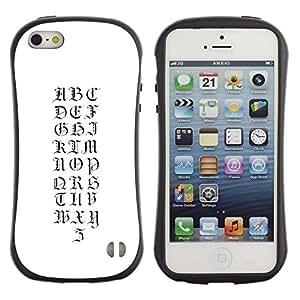 LASTONE PHONE CASE / Suave Silicona Caso Carcasa de Caucho Funda para Apple Iphone 5 / 5S / A to Z again