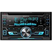Kenwood DPX502BT 2-Din CD Receiver with Bluetooth (Certified Refurbished)