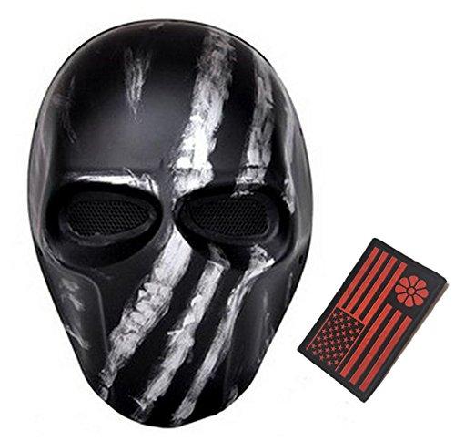 Deathstroke Army of Two Star Wars Fiberglass Full Face Mask (Black 3)