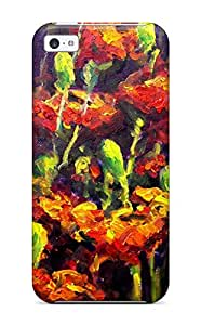 Iphone 5c Case Cover Skin : Premium High Quality Abstract Painting Case 7561741K63667970