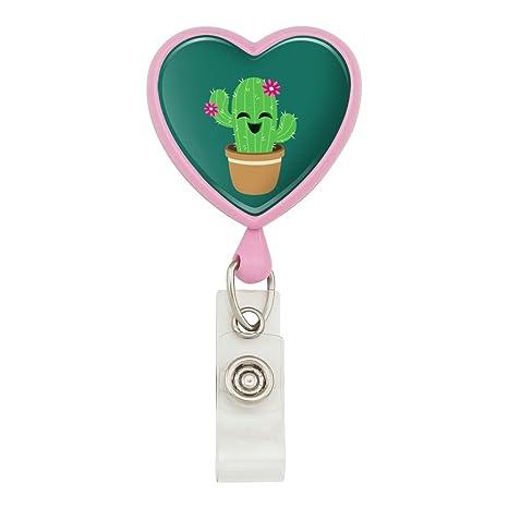 Amazon.com: Lindo Cactus en maceta con flores de color rosa ...