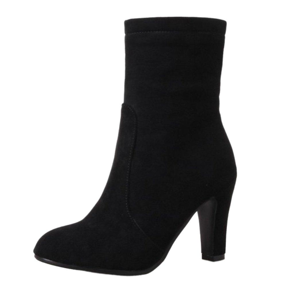 SJJH , Boots Chelsea SJJH Chelsea Femme Boots Noir d966e0d - fast-weightloss-diet.space