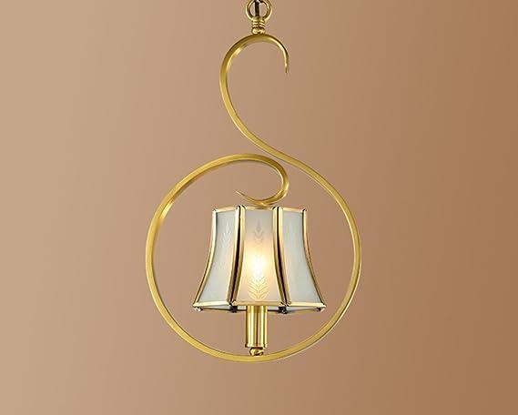 Illuminazione lampadari di rame luci creative luci per corridoi