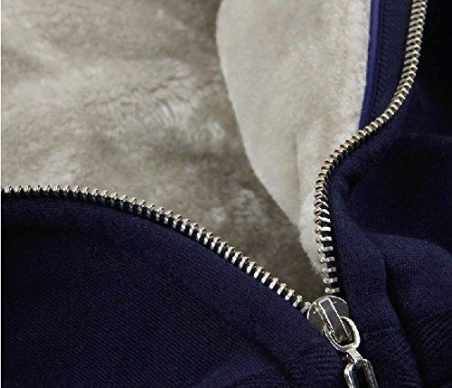 NARUTO Uchiha Sasuke Casual Sweater Unisex Zip Cosplay Hoodie-Black