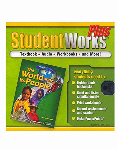 The World and Its People, StudentWorks Plus CD-ROM (GEOGRAPHY: WORLD & ITS PEOPLE)