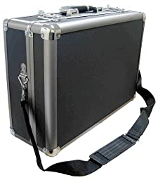 Zeikos ZE-HC36 Deluxe Medium Hard Shell Case With Extra Padding Foam For Cameras, Camcorders, Photograpic Equipment and Portable DVD Player