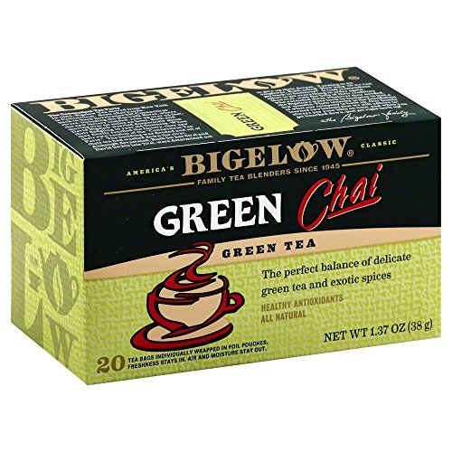 Bigelow Green Chai Tea (Pack of 3)