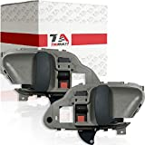 TruBuilt 1 Automotive Replacement T1A-15708043 & T1A-15708044 Interior Door Handles, Gray (left and right)