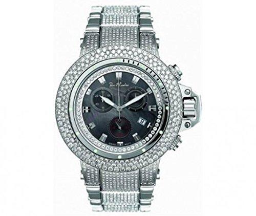 Joe Rodeo Diamond Men's Watch - RAZOR silver 24 ctw