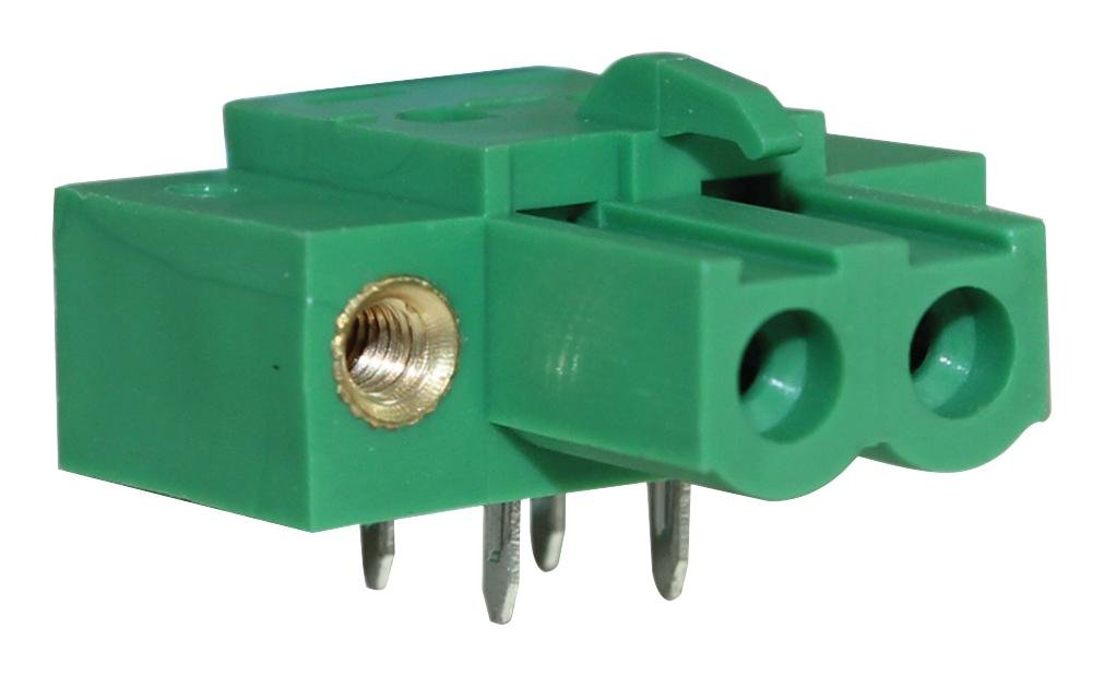 Socket Through Hole Vertical CAMDENBOSS CTBP97VJ//4FL Terminal Block 5.08 mm 4 Positions