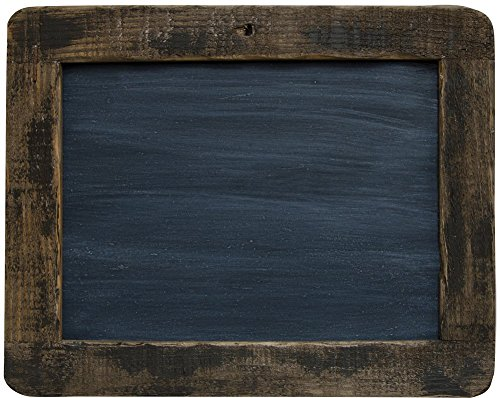 amazon com cwi gifts large distressed slate blackboard with stained