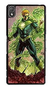 Green Lantern For Sony Xperia Z3 (NOT Fit For Z3 Compact/Z3V) Personality Durable Protector Plastic Funda Case for Guys