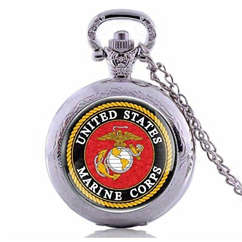 1 Black Marine Corps Globe - 2